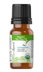 Organic Tea Tree 100% Pure Essential Oil