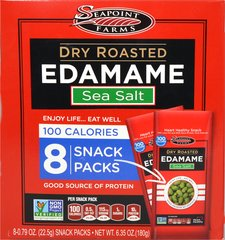 Dry Roasted Edamame with Sea Salt 100 Calorie Packs