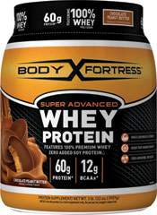 Super Advanced Whey Protein Chocolate Peanut Butter