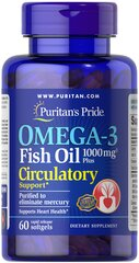 Omega-3 Fish Oil Plus Circulatory Support**