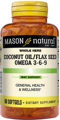 Coconut Oil & Flax Seed 500/500mg