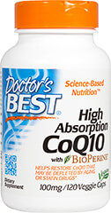 High Absorption Co Q-10 with BioPerine