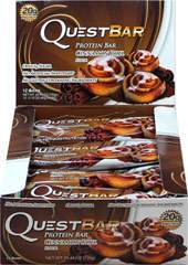 Quest Protein Bar Cinnamon Roll