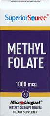 Methyl Folate 1000 mcg Instant Dissolve Tablets
