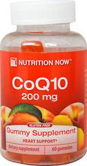 Co Q10 Adult Gummy Supplement 200 mg