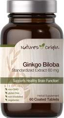 Ginkgo Biloba Standardized Extract 60 mg