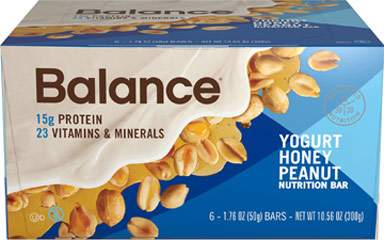 Yogurt Honey Peanut Balance Bar