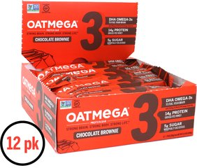 Brownie Crisp OATMEGA Bar
