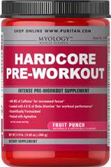 Hardcore Pre-Workout Fruit Punch