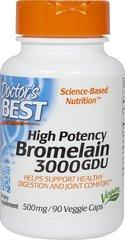 Best 3000 GDU Bromelain