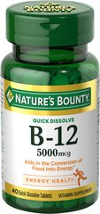 Nature's Bounty® Quick Dissolve B12 5000 mcg