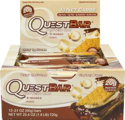 Quest Protein Bar Smores