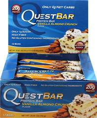 Quest Protein Bar Vanilla Almond Crunch