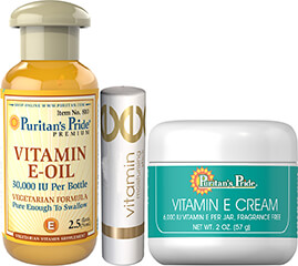 Vitamin E Skin Care Kit