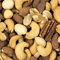 Fancy Roasted Unsalted Mixed Nuts