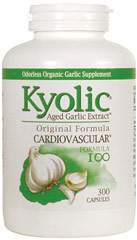 Kyolic Garlic Extract Cardiovascular Formula #100