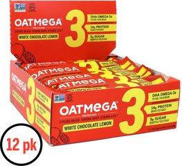 Lemon Chia Crisp OATMEGA Bar