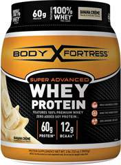 Super Advanced Whey Protein Banana Crème