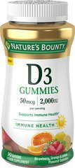 Nature's Bounty® Vitamin D3  Gummies