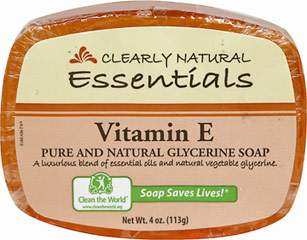 Clearly Natural® Vitamin E Glycerine Soap