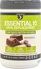 Essential 10 Meal Replacement 100% Plant Based Protein Belgian Chocolate