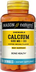 Chewable Calcium 600 plus D3