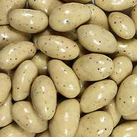 Egg Nog Almonds
