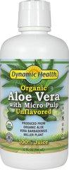 Organic Aloe Vera Juice W/ Micro Pulp Unflavored