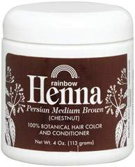 Henna Persian Medium Brown (Chestnut) Hair Color & Conditioner