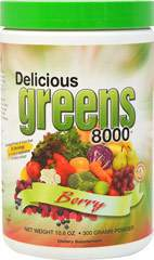 Delicious Greens 8000 Berry