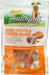 Healthfuls Sweet Potato & Chicken Wraps Treats for Dogs