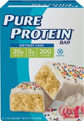 Pure Protein Birthday Cake