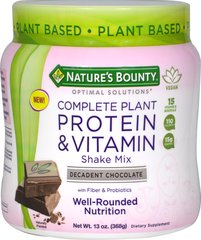 Complete Plant Protein & Vitamin Shake Mix Chocolate