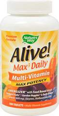 Alive!® Max³ Daily Multi Vitamin