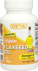 Organic Vegan Flaxseed Oil