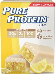 Pure Protein Lemon Cake