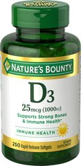 Nature's Bounty® Vitamin D 25 mcg (1000 IU)