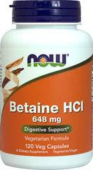 Betaine HCL 648 mg