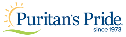 Puritan's Pride® since 1973 Logo Blue