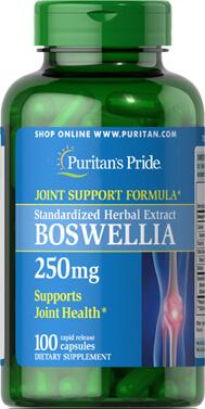 Boswellia Standardized Extract 250 mg