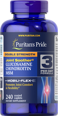Double Strength Glucosamine, Chondroitin & MSM Joint Soother