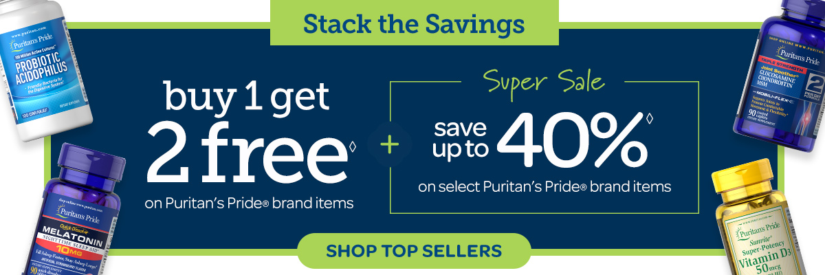 Buy 1 Get 2 Free + Super Sale Save up to 40%