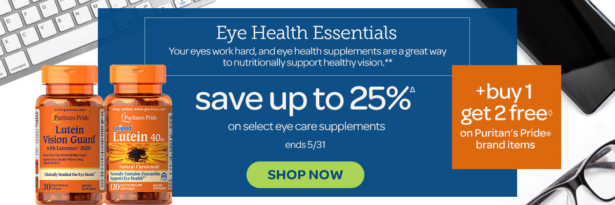 Eye health-Save up to 25%
