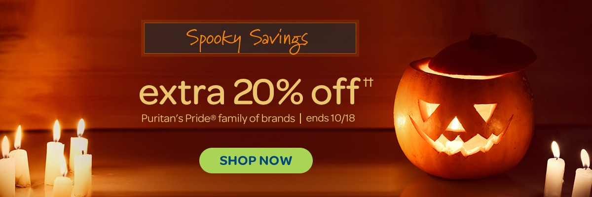 Spooky Savings, Extra 20%