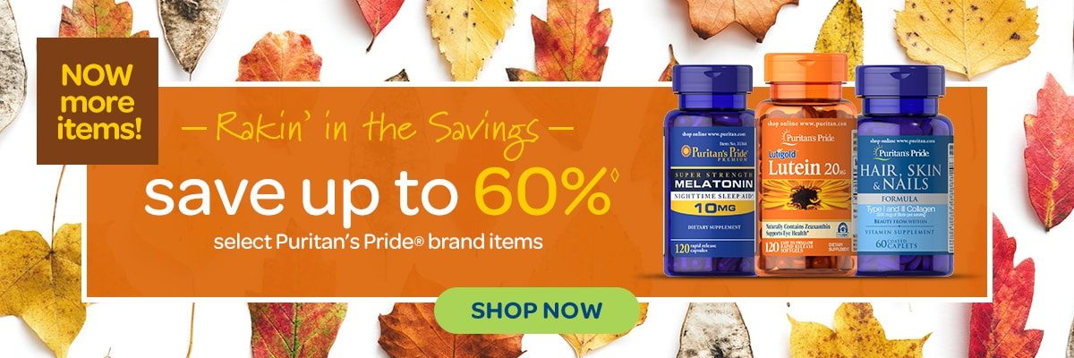 Rakin' in the Savings,  Save up to 60%