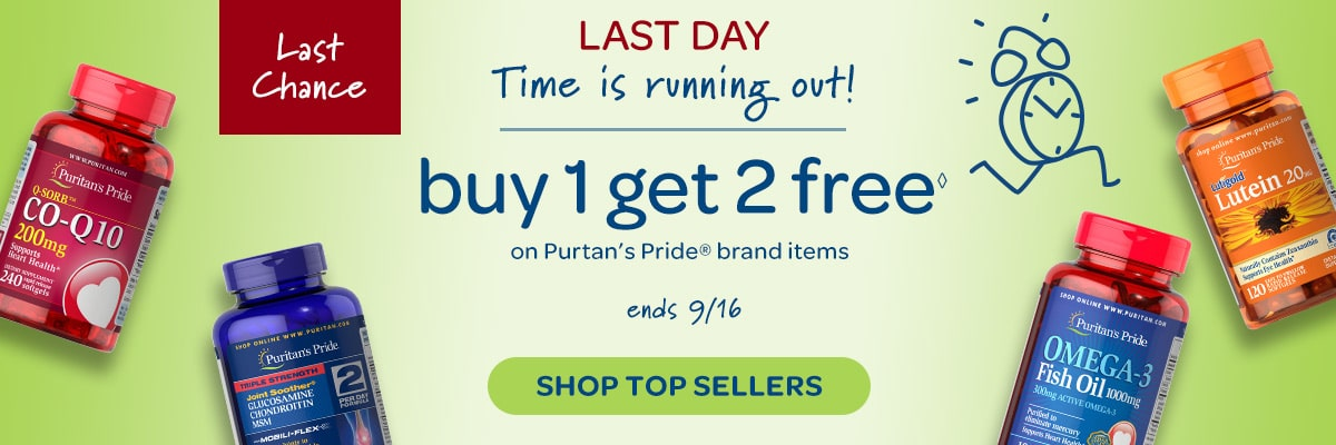 Buy 1 Get 2 Free LAST DAY