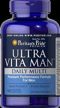 Ultra Vita Man™ Daily Multi Timed Release