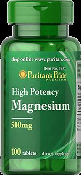 Magnesium 500mg