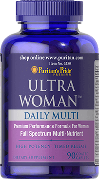 Ultra Woman™ Daily Multi Timed Release