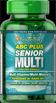 ABC Plus® Senior Multi with Zinc
